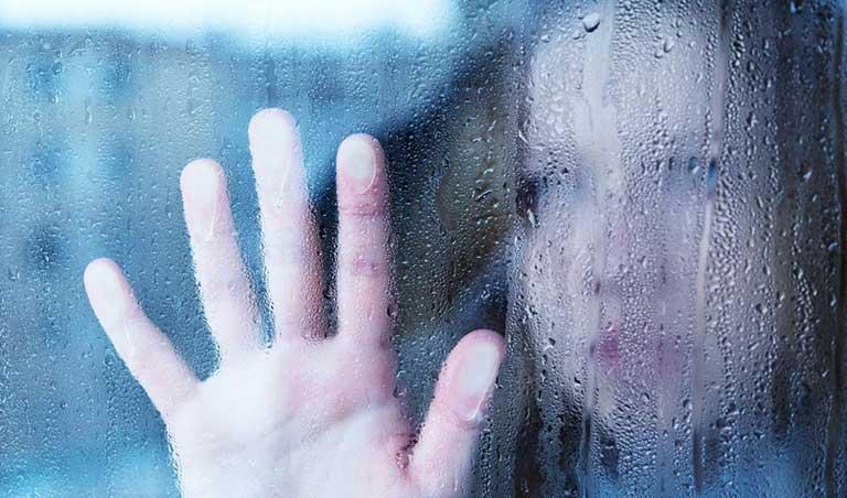 Melancholy And Sad Young Woman